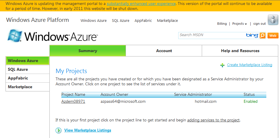 windows azure OLD 관리화면.png